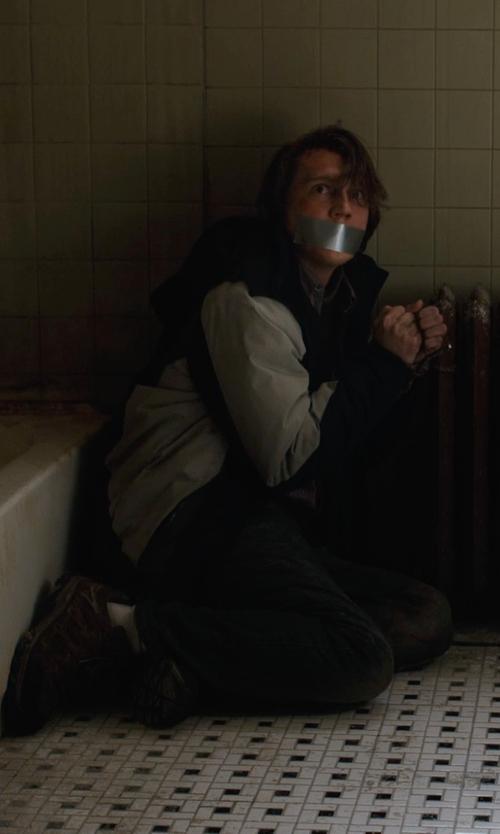 Paul Dano with Polo Ralph Lauren Slim-Fit Reeve-Wash Jean in Prisoners