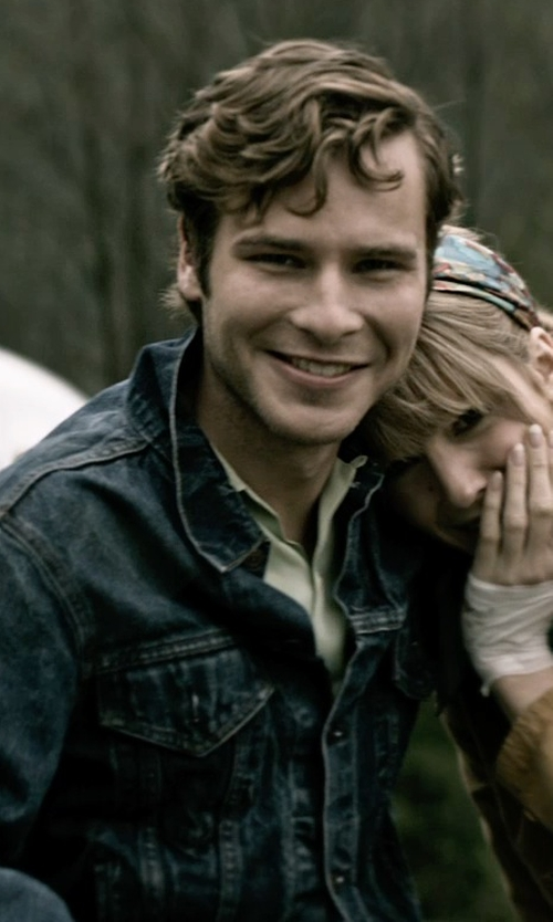 Anthony Ingruber with Benson Regular Fit Short Sleeve Linen Sport Shirt in The Age of Adaline