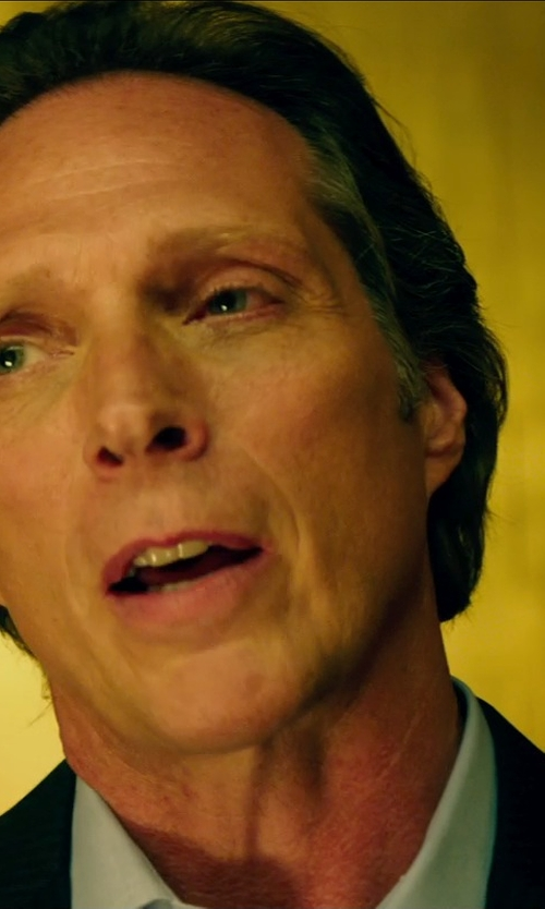 William Fichtner with Dsquared2 Stretch Dress Shirt in Teenage Mutant Ninja Turtles (2014)