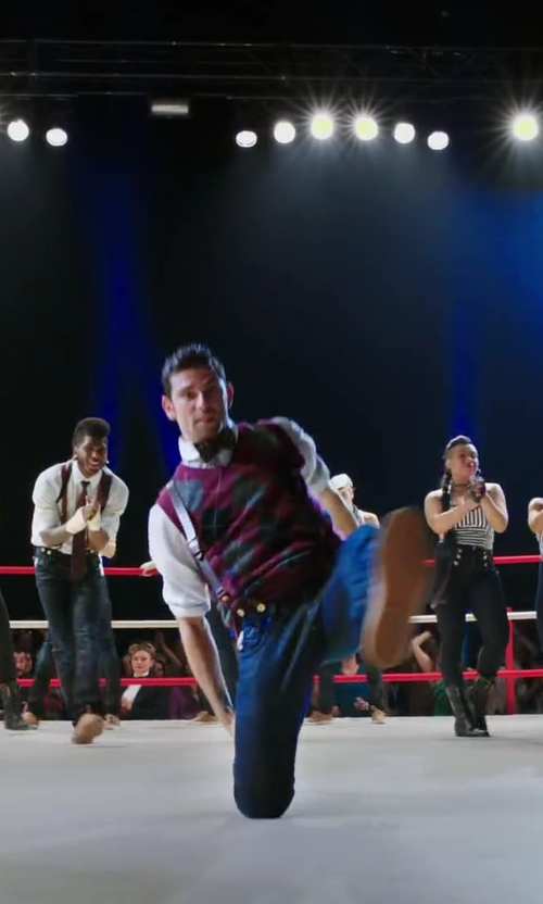 David Shreibman with BROOKS BROTHERS SILK DOUBLE BOW TIE in Step Up: All In