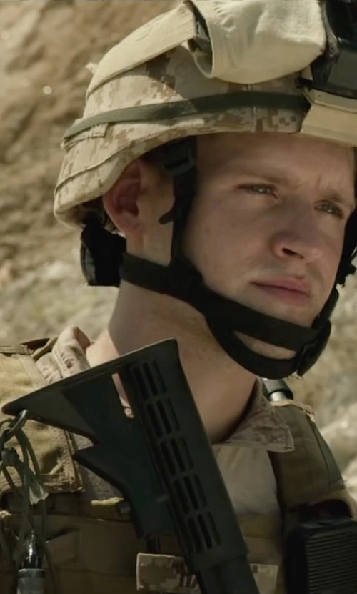 Luke Kleintank with BlackHawk Omega Elite Tactical Vest in Max