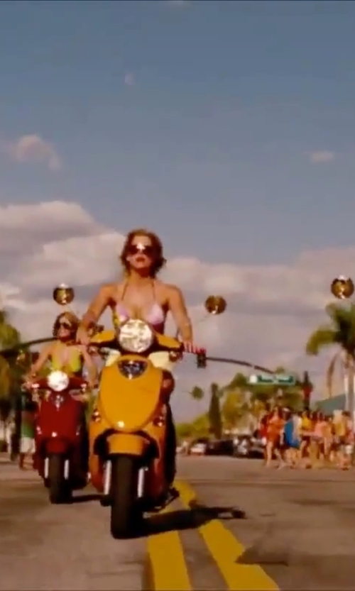 Ashley Benson with Ray-Ban Aviator Sunglasses in Spring Breakers