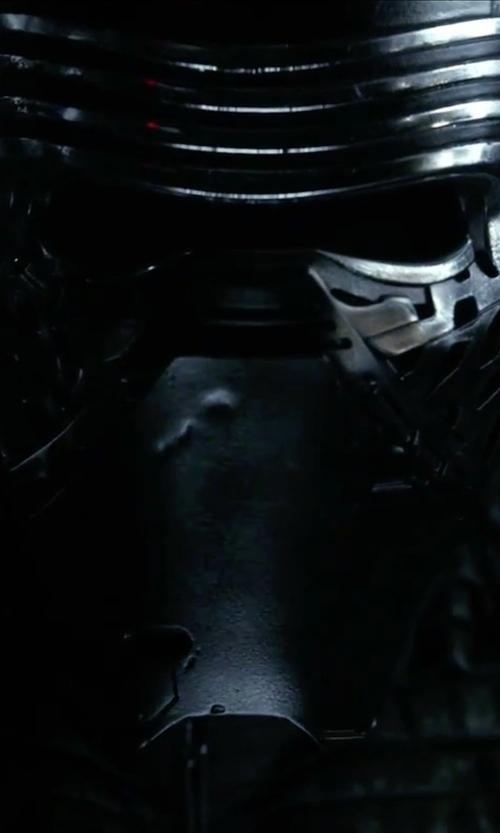 Adam Driver with Michael Kaplan (Costume Designer) Kylo Ren Costume in Star Wars: The Force Awakens