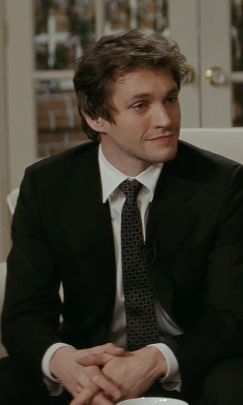 Hugh Dancy with Ralph Lauren Anthony Wool Gabardine  Suit in Confessions of a Shopaholic