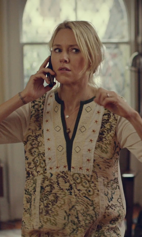 Naomi Watts with Ippolita Lollipop Mini Pendant Necklace in While We're Young