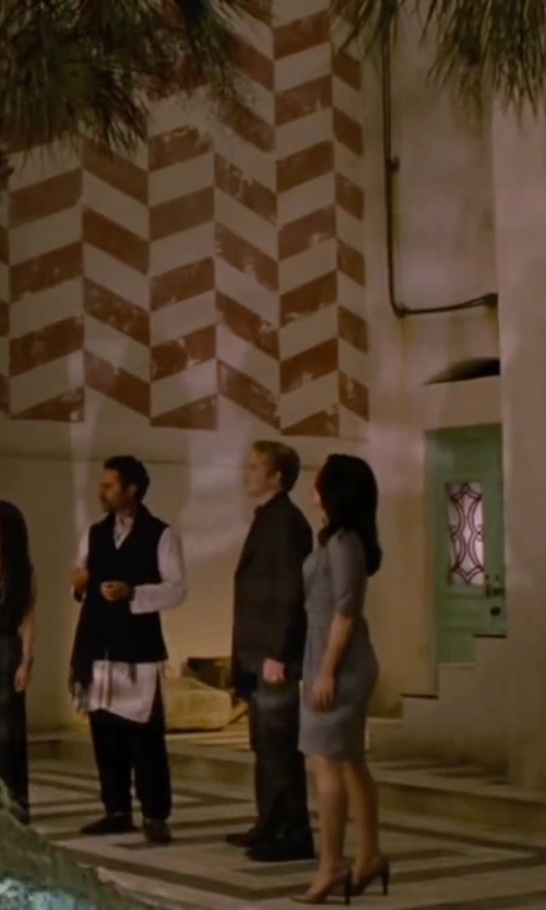Peter Facinelli with Saks Fifth Avenue Slim-Fit Textured Wool Sport Coat in The Twilight Saga: Breaking Dawn - Part 2
