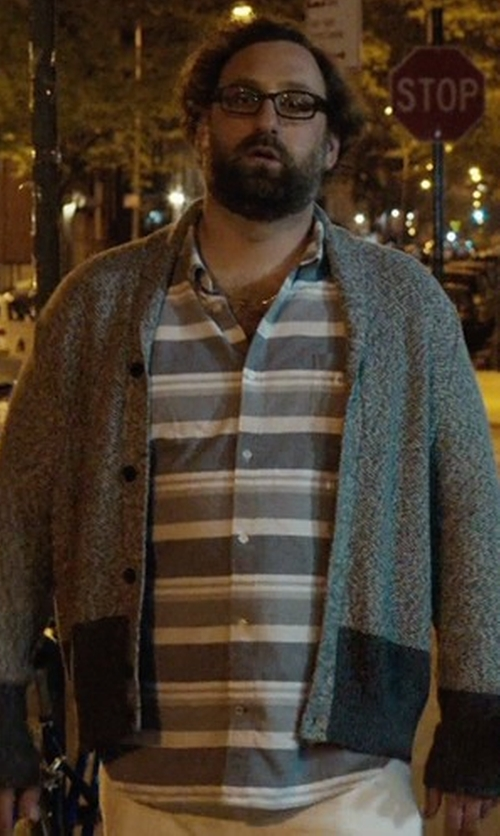 Eric Wareheim with Element Button Down Shirt in Master of None