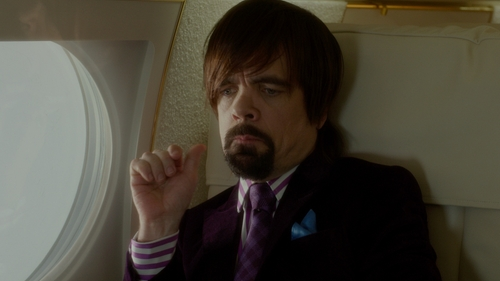 Peter Dinklage with Barneys New York Paisley Woven Pocket Square in The Boss
