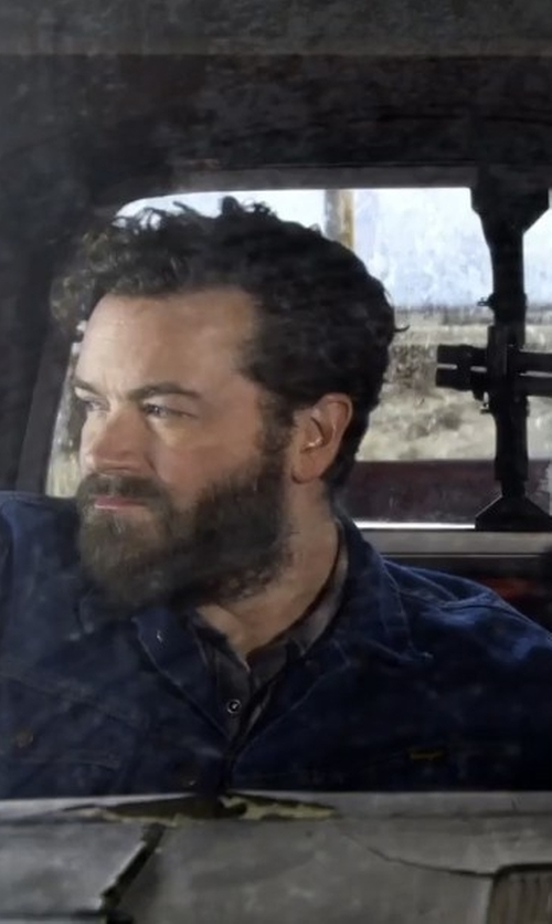 Danny Masterson with Wrangler Rugged Wear Unlined Denim Jacket in The Ranch