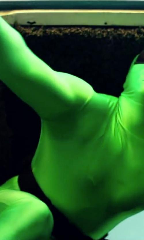 Anthony Mackie with Deborah Lynn Scott (Costume Designer) Custom Made Alien Costume (Adrian Doorbal) in Pain & Gain
