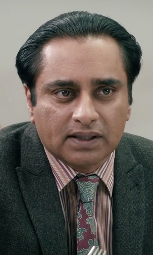 Sanjeev Bhaskar with Ted Baker London Tutie Paisley Print Tie in Absolutely Anything