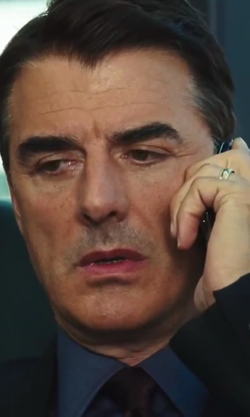 Chris Noth with Theory Slim-Fit Dover Luxe Dress Shirt in Sex and the City 2