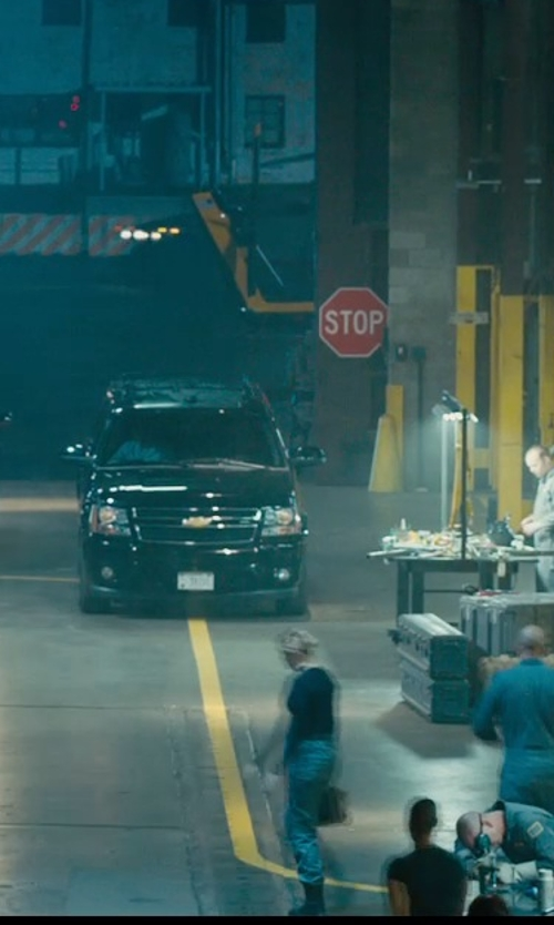 Ludacris with Chevrolet Suburban SUV in Furious 7