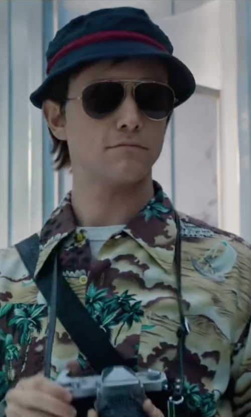 Joseph Gordon-Levitt with Steven Alan Bucket Hat in The Walk