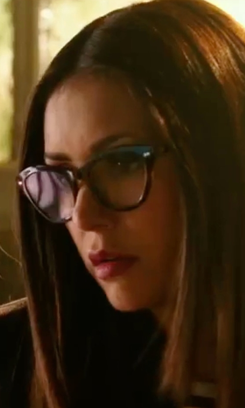 Nina Dobrev with Prada Cat-Eye Contrast-Arm Fashion Glasses in xXx: Return of Xander Cage