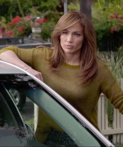 Jennifer Lopez with Boss Hugo Boss Tumena Wool & Angora Trousers in The Boy Next Door