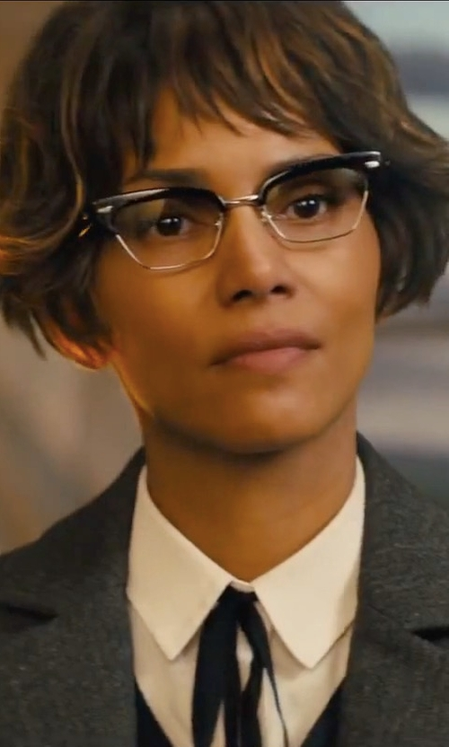 Halle Berry with Reiss Turlington Jacket Tailored Jacket in Kingsman: The Golden Circle