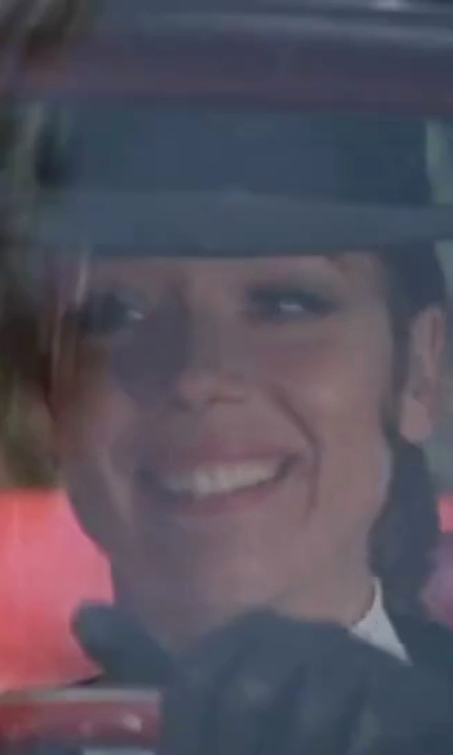 Diana Rigg with Brixton Wesley Fedora Hat in On Her Majesty's Secret Service
