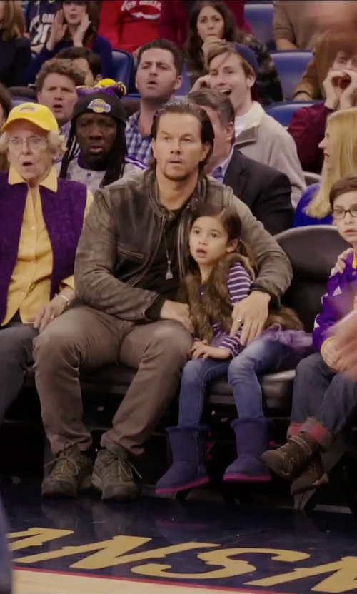 Mark Wahlberg with New Balance MX623V2 Sneakers in Daddy's Home