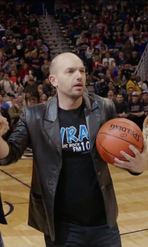 Paul Scheer with Bonobos 'The Blue Jean' Slim Fit Jeans in Daddy's Home