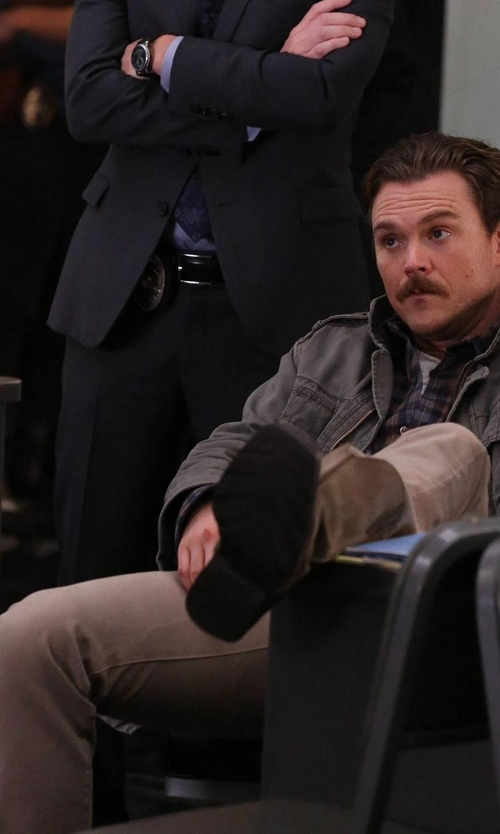 Clayne Crawford with Citizens Of Humanity Core Jeans in Lethal Weapon