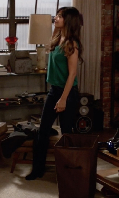 Hannah Simone with Steve Madden Arieel Boots in New Girl