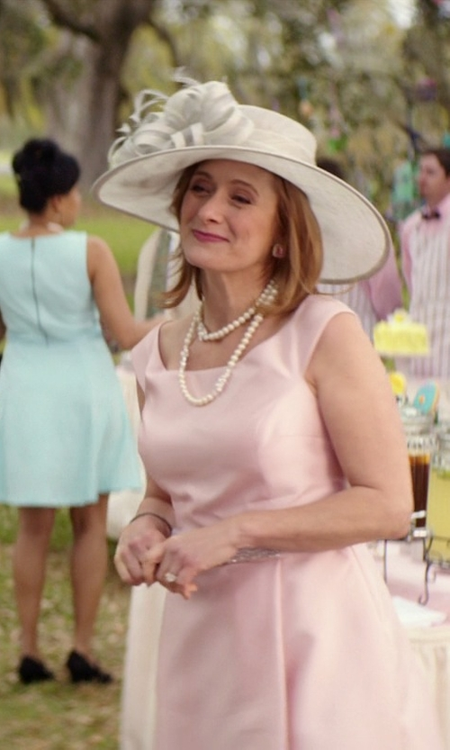 Caroline Goodall with Nordstrom Sinamay Hat in The Best of Me