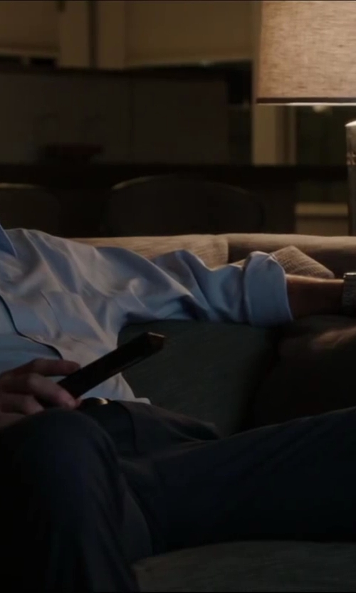 Jon Hamm with Julius bark twin sleeper sofa in Million Dollar Arm