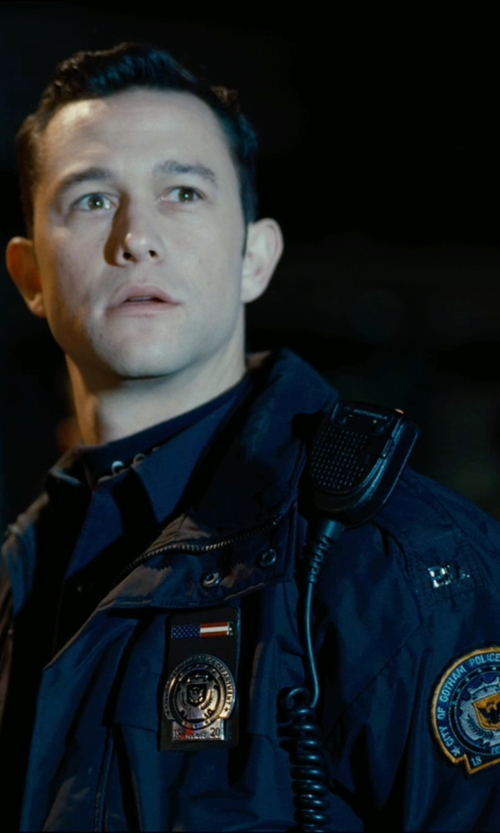 Joseph Gordon-Levitt with 5.11 Tactical 4-in-1 Patrol Jacket in The Dark Knight Rises
