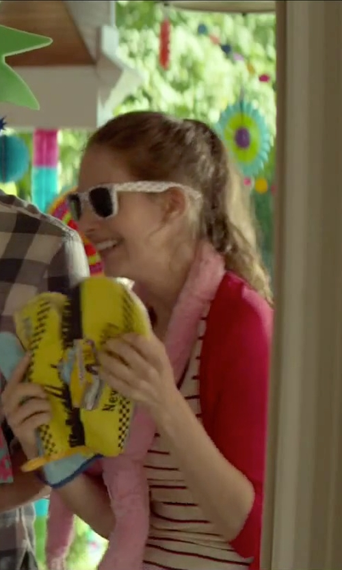 Alison Brie with Electric California Wayfarer Sunglasses in Sleeping with Other People