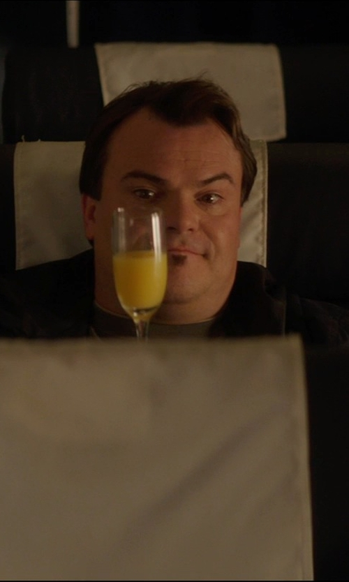"Jack Black with Baccarat ""Montaigne Optic Tall"" Champagne Flute in The D Train"