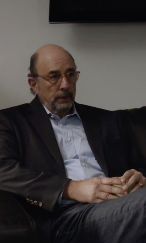 Richard Schiff with Tiffany&Co. Lucida Band Ring in Ballers