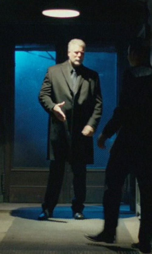 Kevin Nash with Maison Margiela Oversized Blazer in John Wick