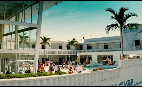 Tony Shalhoub with Glass Haus Studios (Depicted as The Sun Gym) Miami, Florida in Pain & Gain