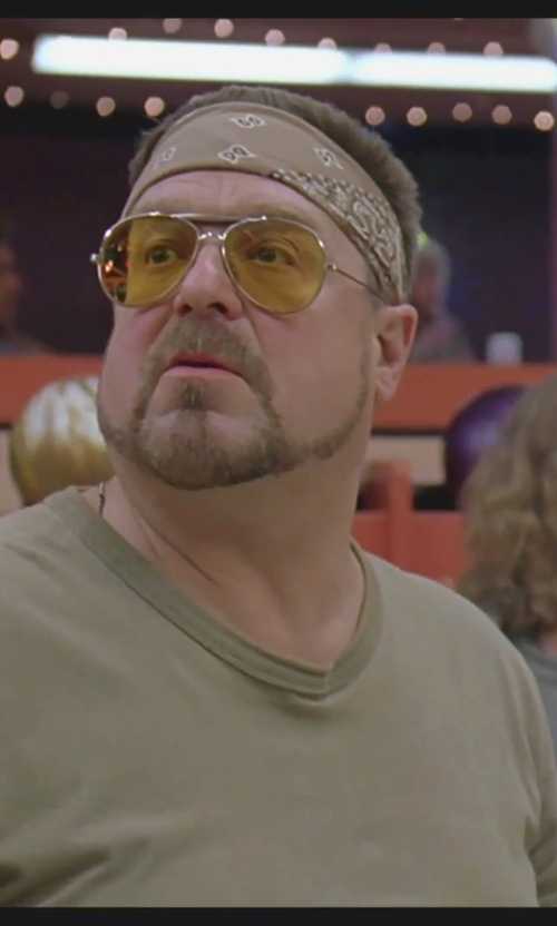 John Goodman with Ctm Unisex Cotton Paisley Bandana in The Big Lebowski