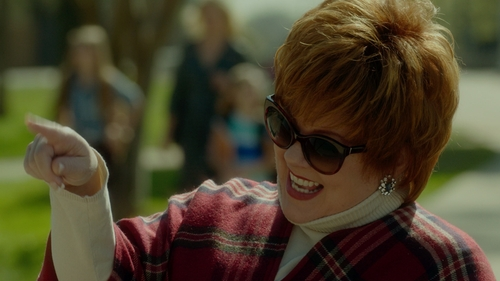 Melissa McCarthy with Ted Baker London Cat Eye Sunglasses in The Boss