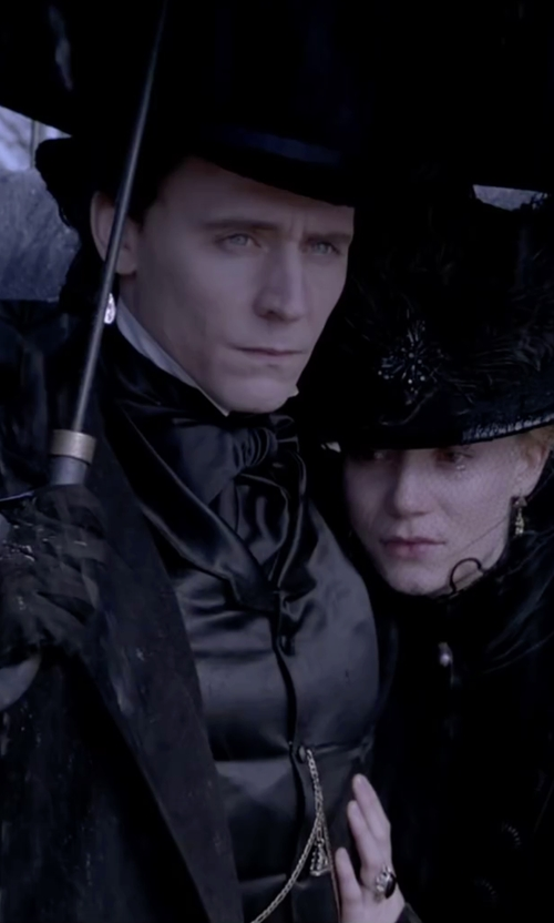 Tom Hiddleston with Charles-Hubert Mechanical Pocket Watch in Crimson Peak