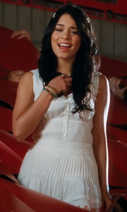 Vanessa Hudgens with Jenn Pleated Skirt in High School Musical 3: Senior Year