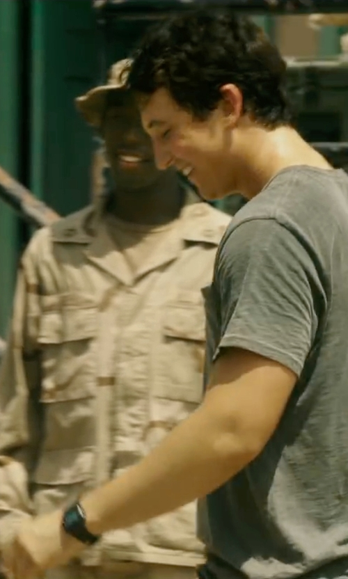 Miles Teller with Casio G-Shock Wrist Watch in War Dogs