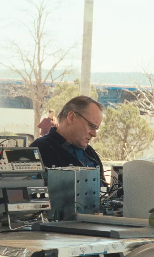 Stellan Skarsgård with Argyleculture Morton Rectangular Eyeglasses in Thor