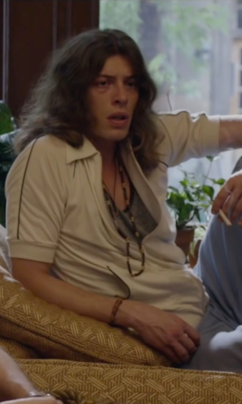 Benedict Samuel with Zadeh Parachute Chord Bracelet in The Walk