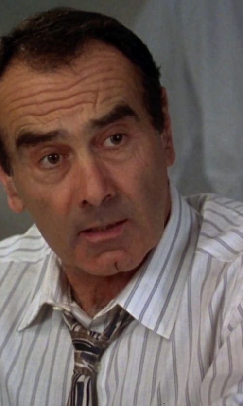 Dan Hedaya with Ike Behar Stripe Dress Shirt in Clueless