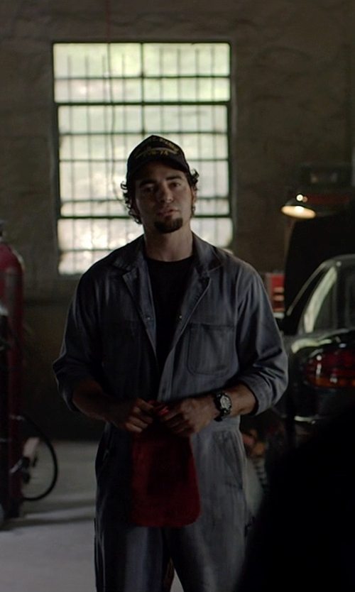 Ramon Rodriguez with Parasuit Long-Sleeve Jumpsuit in Need for Speed