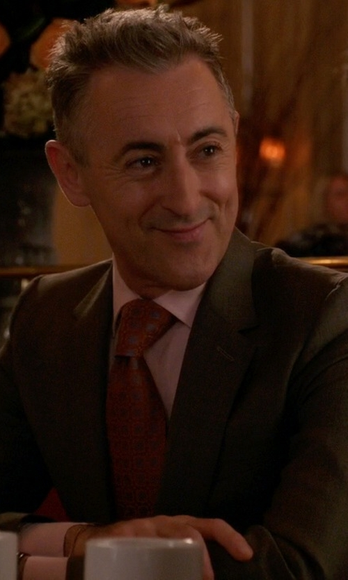 Alan Cumming with Dsquared2 Classic Two-Piece Dinner Suit in The Good Wife