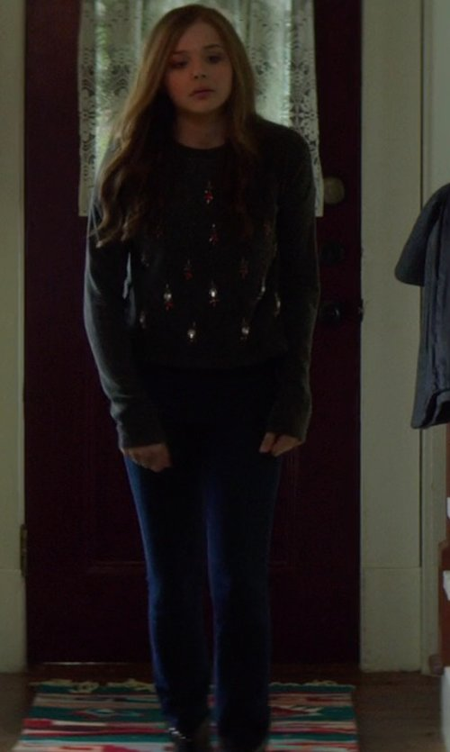 Chloë Grace Moretz with David Lerner Classic Leggings in If I Stay