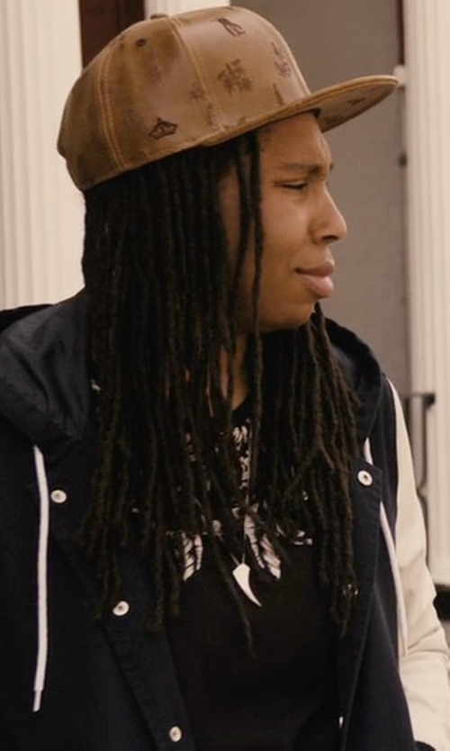 Lena Waithe with She Squats Varsity Gym Hoodie Jacket in Master of None
