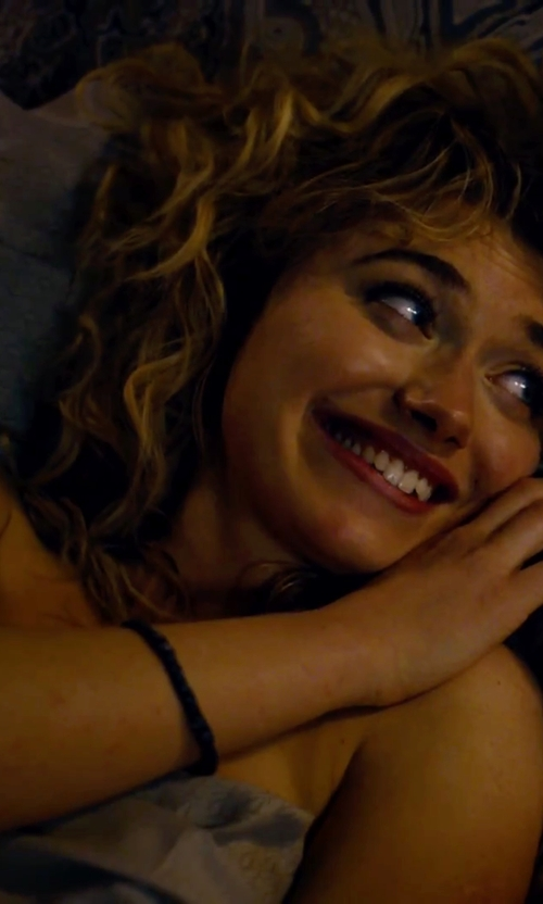 Imogen Poots with Portage Leather/Pearl Bracelet in She's Funny That Way