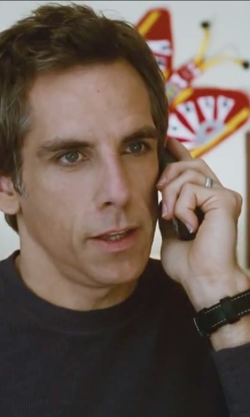 Ben Stiller with Bloomingdale's White Gold Classic Wedding Ring in Little Fockers
