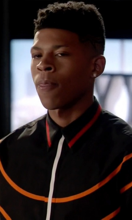 Bryshere Y. Gray with Givenchy Basketball Contour Shirt in Empire