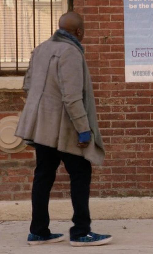 Tituss Burgess with Vans Classic Fleece Lined Slip On Sneakers in Unbreakable Kimmy Schmidt